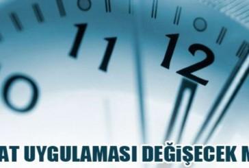 BAKANLAR KURULU KARARI: SAATLER BU SENE GERİ ALINMIYOR…!!!