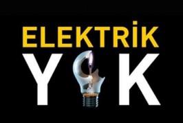 AKSA AÇIKLADI: 2 AY ELEKTRİK YOK!!!