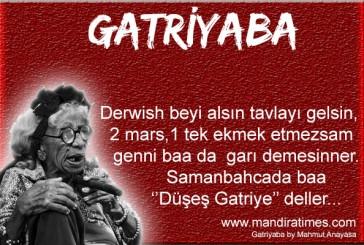 DERWİSH BEYE DA HODRİ MEYDAN…!!!