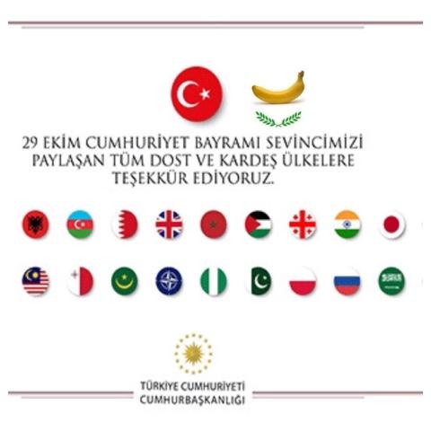 """T.C CUMHURBAŞKANLIĞINDAN YENİ """"TEŞEKKÜR"""" PAYLAŞIMI…"""